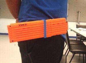 Nerf Magazine Holder BELT CLIP Nerf dart gun custom Double magazine holder accessory 27