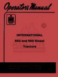 INTERNATIONAL-FARMALL-660-Operators-Instruction-Manual