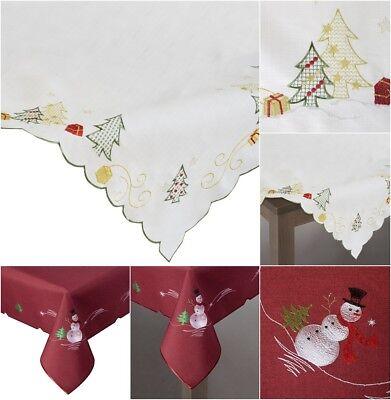 Eg /_ Weihnachten Tischset Santa Schneemann Esstisch Platzdeckchen Pad Heim Dekor