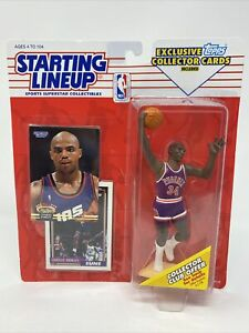 CHARLES BARKLEY SLU 1993 Starting Lineup by Kenner Phoenix Suns HOF TOPPS NBA