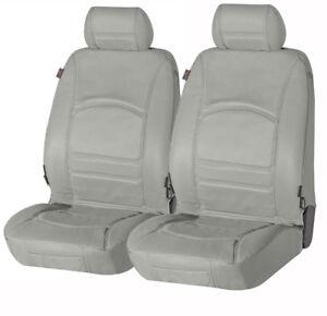Lancia Dedra  echt Leder Sitzbezug Sitzbezüge aus echtem Leder grau