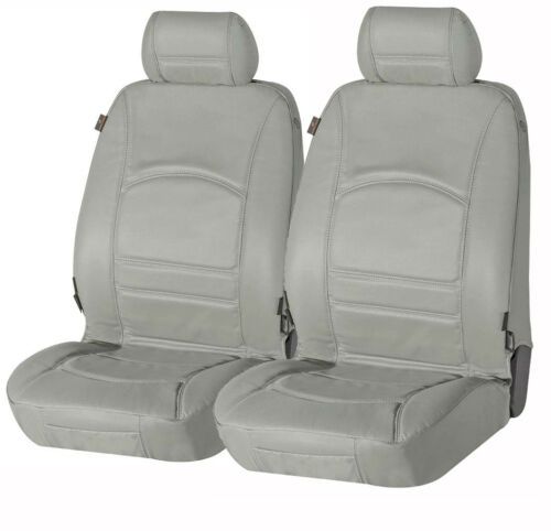 VW Tiguan  echt Leder Sitzbezug Sitzbezüge aus echtem Leder grau