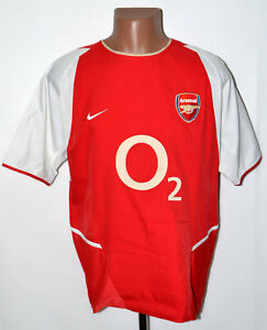 Arsenal-Londra-2002-2003-2004-Calcio-Casa-maglietta-jersey-Nike-taglia-M-adulto