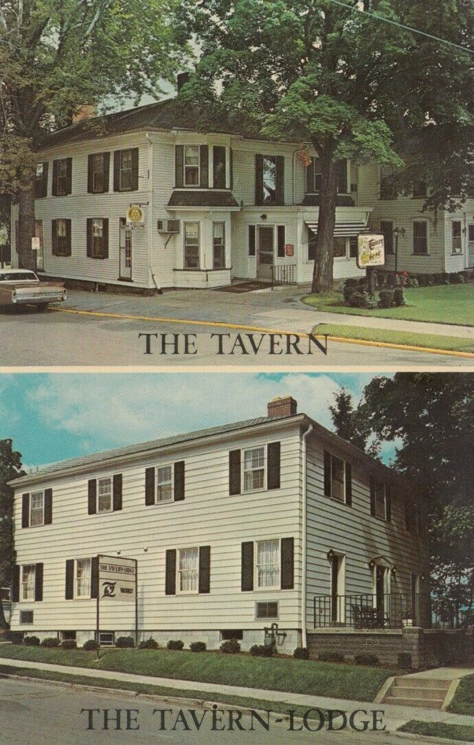 NEW WILMINGTON, Pennsylvania, 1940-60s; The Tavern & Tavern-Lodge
