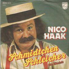 Nico Haak - Schmidtchen Schleicher / Die Ukulele (Vinyl-Single 1975) !!!