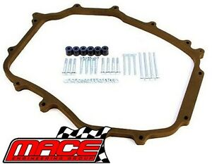 Details about MACE MANIFOLD PLENUM SPACER KIT TO SUIT NISSAN 350Z Z33  VQ35DE 3 5L V6
