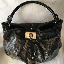 Marc by Marc Jacobs Grey/Black Jelly Jacquard Lil Riz Hillier Hobo Handbag Purse