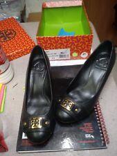 22a65cec80768d item 1 Tory Burch Natalya black driftwood mid wedge pump heel size 9.5  women s used -Tory Burch Natalya black driftwood mid wedge pump heel size  9.5 women s ...