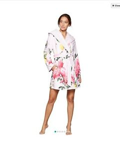 Bnwt B By Ted Baker Pink Floral Print Citrus Bloomdressing Gown 12