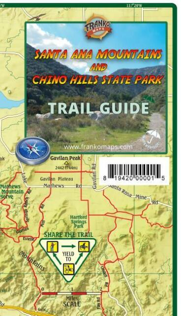 Santa Ana Mountains & Chino Hills State Park Trail Map Waterproof by on low desert cities map, death valley mine map, california bays map, california map with latitude lines, california map with latitude and longitude, california regions map, california valley map, death valley mojave desert map, california rivers map, california nature map, california relief map, california physical map, california love map, mt whitney on california map, southern rocky mountain states map, california dunes map, california lakes map, los angeles terrain map, california painting map,