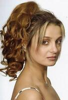 14 Long Human Hair Claw Clip/drawstring Ponytail Piece