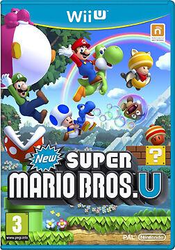 New Super Mario Bros U for Nintendo Wii, 2009, Pal version - new, sealed