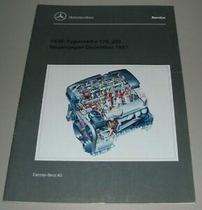 Werkstatthandbuch-Mercedes-Motor-R-170-SLK-C-Klasse-W-202-Buch-Stand-12-1997
