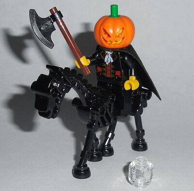 HALLOWEEN #22 Lego Headless Horseman & Undead Horse NEW Genuine Lego Parts