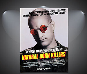 A1 A3 A2 Natural Born Killers Vintage Movie Poster A4 Sizes