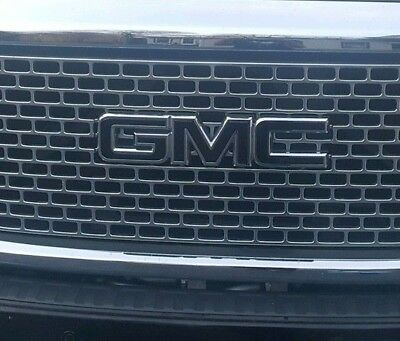 Gloss White GMC Sierra Precut Emblem Overlay Decal SET 2014-2018 Sierra 1500