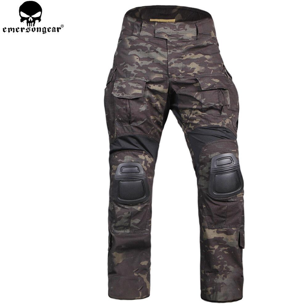 Nuevo G3 Táctica de Combate Pantalones ropa de entrenamiento resistente al desgaste Airsoft Caza
