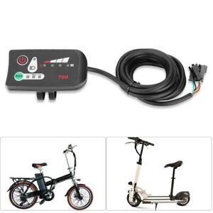 24-36-48V-Ebike-Handlebar-LED-Panel-Display-W-Light-For-Electric-Bike-Scooter