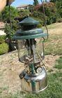 Antique Vintage Coleman Chrome Base Lantern