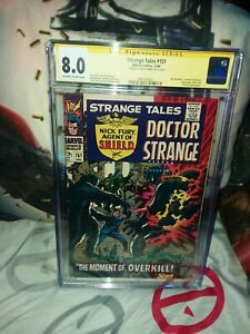 Strange-tales-151-Cgc-SS-8-0-1ST-STERANKO-WORK-AT-MARVEL-Steranko-Signed-RARE