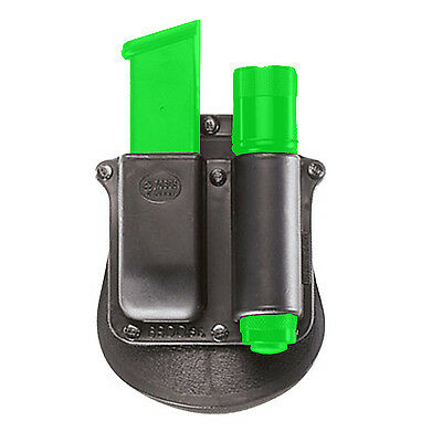 Fobus Roto Pouch for Glock Double Stack 9mm Magazine & Flashlight -6900 SF RT