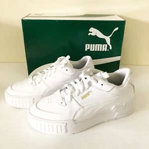 Puma-Cali-Sport-Platform-Sneakers-White-New-With-Box-Womens-Size-8-5