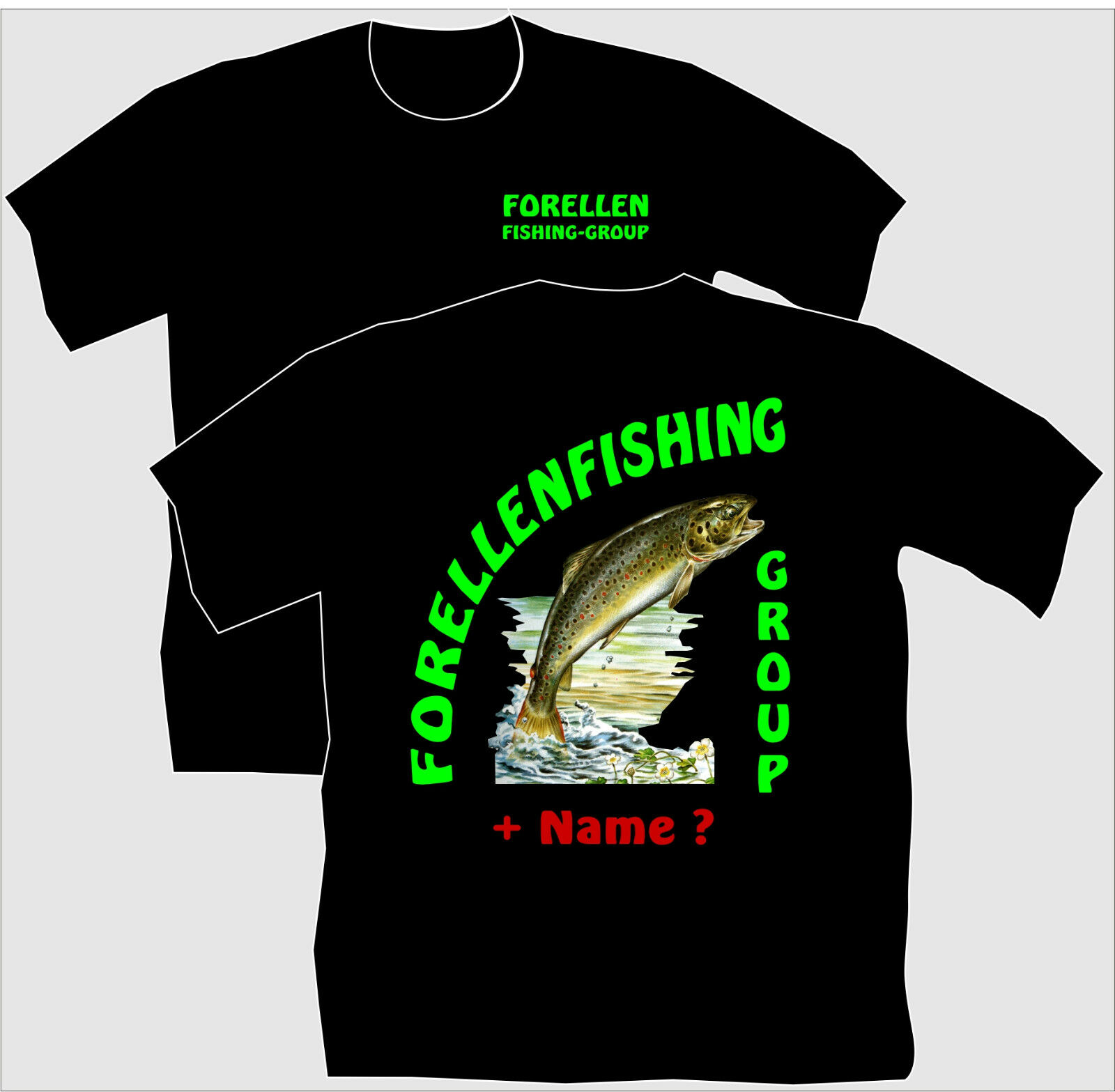 Anglershirt Angler T-Shirt Forellenangeln Forellen Angeln Spinnangeln Fliegen Fliegen Fliegen 61  barato