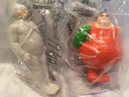 Collectible Carl's Jr. Cool Combos 1997 The Tick Squirters Lot of 2 MIP