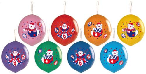 CIRQUE CLOWNS Ballons italien d/'impression haute qualité Assorted Designs 50 pcs