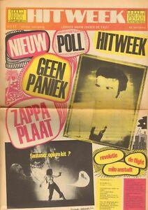 HITWEEK 1969 17 Ruben &  Jets FRANK ZAPPA Keef Hartley FLIGHT LOWLANDS PARADISE