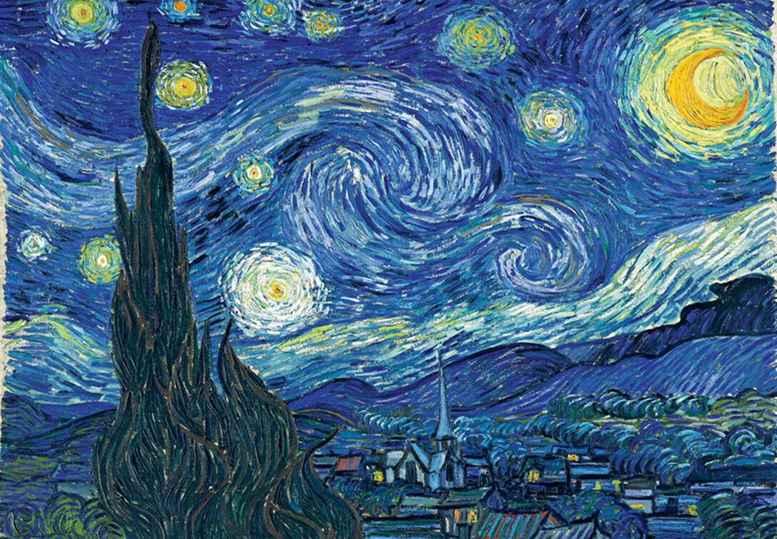1000Piece Jigsaw Puzzle The Starry Night by Gogh Hobby Home Decoration DIY
