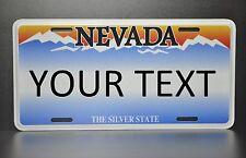 US AUTO USA CAR NEVADA STATE LICENSE PLATE Kennzeichen Nummernschild DEIN TEXT