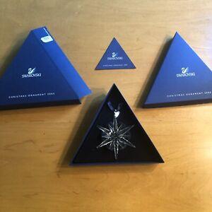 NEW Swarovski 2005 Annual Star Snowflake Christmas Holiday ...
