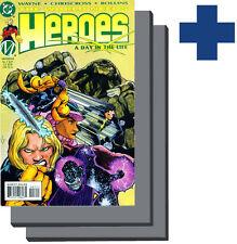 •.•  WORLD NEEDS HEROES • Issues 3,4 • «2 Comic Set»