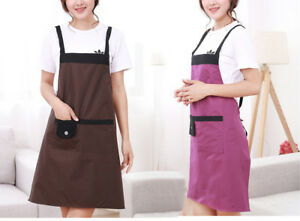 Bon Details About Aprons Kitchen Waterproof Cute Apron, Womenu0027s Kitchen Apron  (2 Pcs)