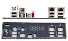 ATX pannello I/O Shield ASUS Striker II 2 formula #26 Rampage Formula NUOVO OVP io