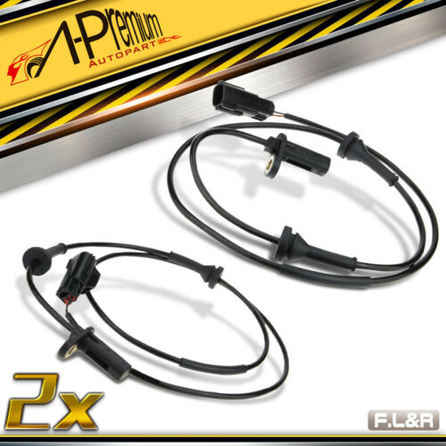 A-Premium 2x Front ABS Sensors for Volvo S60 S80 V70 XC70 Cross Country 97-09