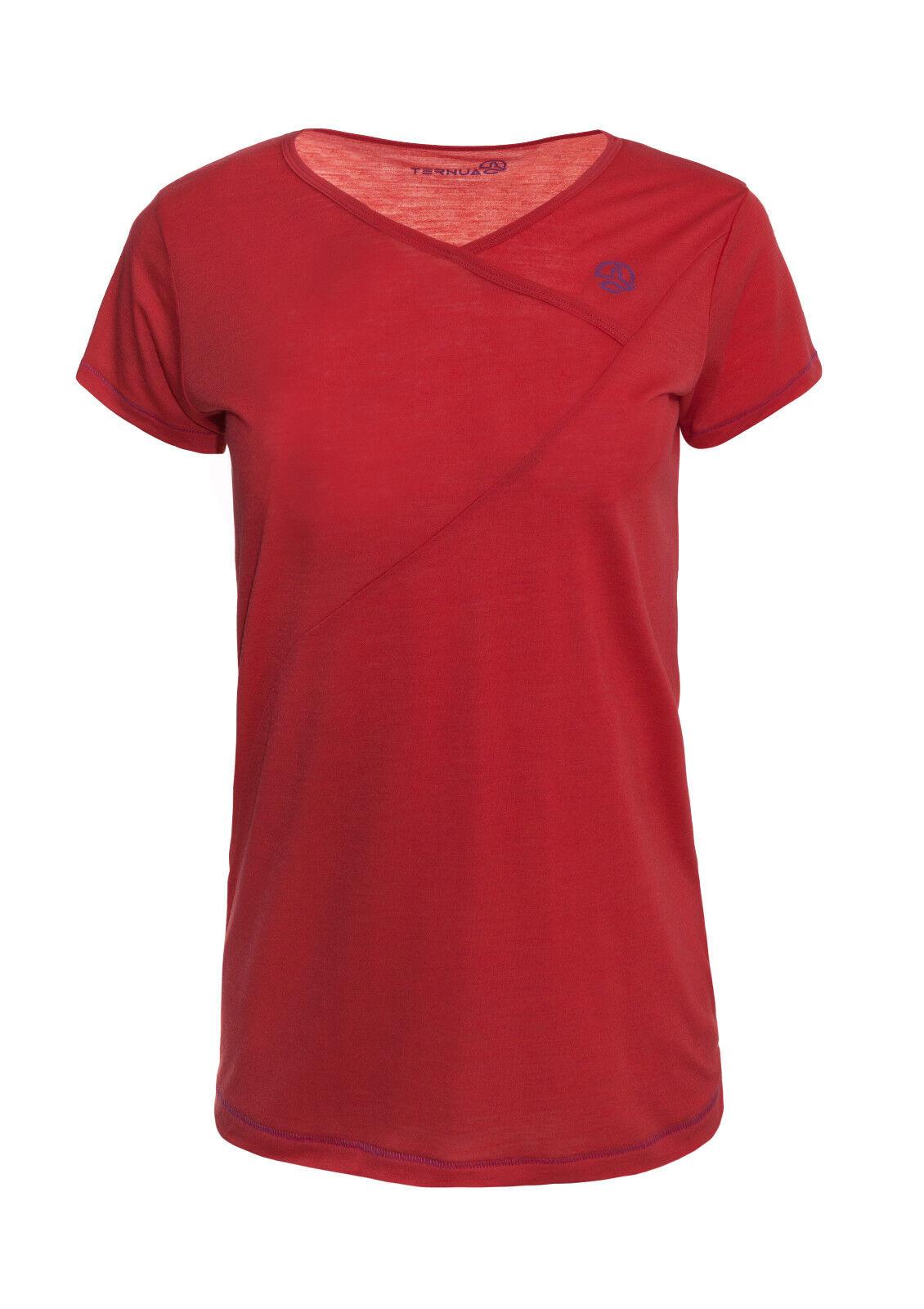 Ternua Stin merino camisa mujer-Al aire libre trepar senderismo fitness yoga