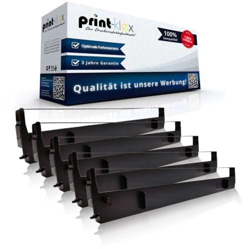5x Kompatibel Farbbänder für Epson LQ 1000 Nylonband Kassetten-Drucker Pro Serie