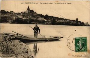 CPA-Candes-Vue-generale-prise-a-l-039-embouchure-de-la-Vienne-611667