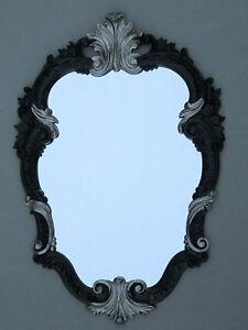 Espejo De Pared Antiguo Ovalado Oro Retro Barroca 50x35 Baño C444 Nuevo Espejos