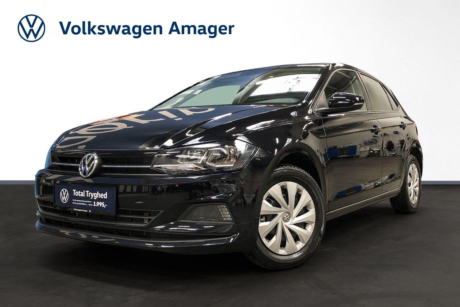 VW Polo 1,0 TSi 95 Comfortline DSG 5d - 199.900 kr.