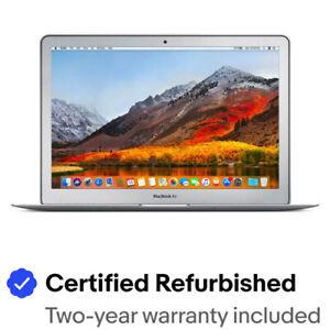 "Apple MacBook Air 13"" 1.8GHz i7 4GB RAM 256GB SSD Certified Refurbished A1369"