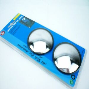 BLIND SPOT MIRRORS FOR TOWING A TRAILER BIG CARAVAN DOLLY PLANT TRACTOR CAR VAN