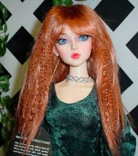 """DOLL Wig, Monique Gold """"J-Rock"""" Size 5/6 in Soft Red"""