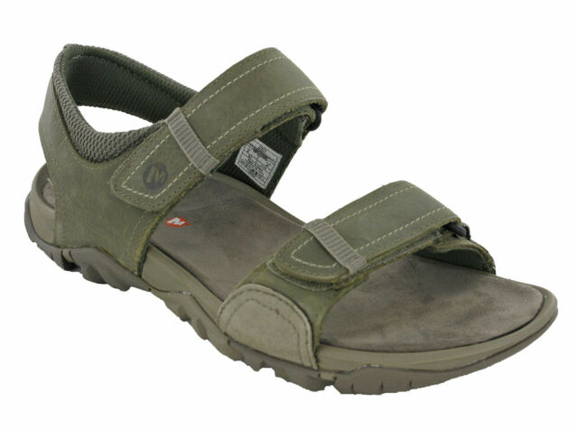 c5e11a9f183 Merrell Telluride Strap Sandals Leather Mens Summer Beach Casual Holiday UK  7-10