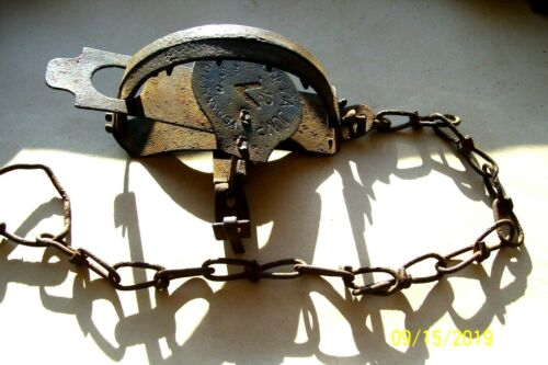 Details about  /Vintage Oneida Jump #12  Trap Old Antique Newhouse