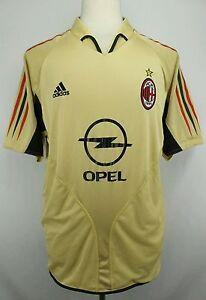 size 40 46553 ea4a3 RARE Vintage Adidas 2004-2005 Third Kit AC Milan Soccer ...
