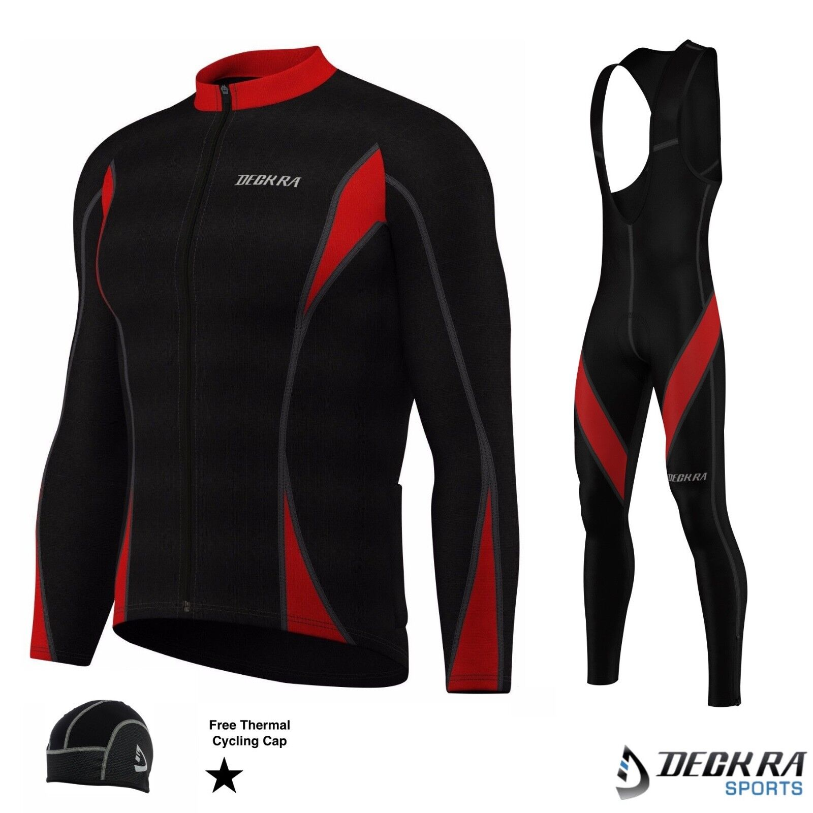 Mens Cycling Bib Tights+Jersey Long  Sleeves Thermal Winter Bicycle Shirt Tights  here has the latest