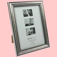 Fotorahmen Bilderrahmen Antik Silber Holz Bildformat 13x18cm Bild Foto Rahmen